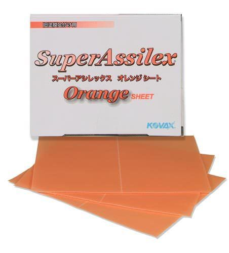 Eagle Abrasives 1911510 Super Assilex Sheets Lemon 1500 GRIT Finishing 25//Box